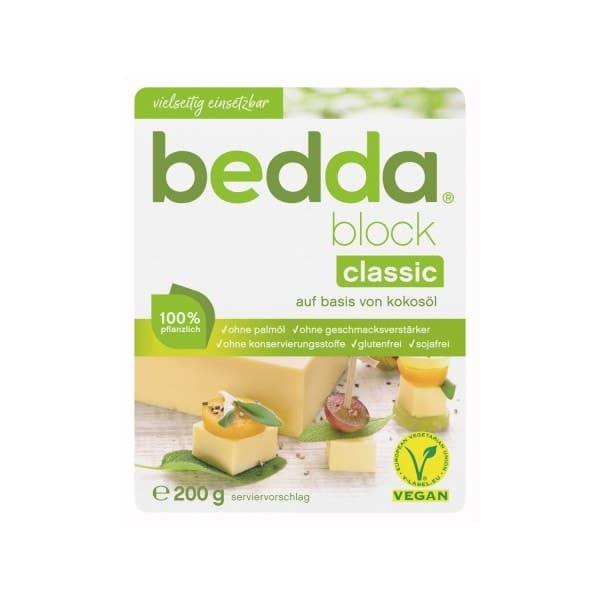 bedda BLOCK Classic, 200g