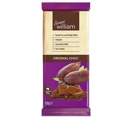 Sweet William ORIGINAL CHOC, 100g