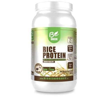 Be Green RICE PROTEIN Vanille Dose, 1000g