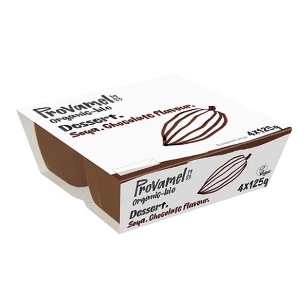 Provamel SOJA DESSERT Schokolade, BIO, 4x125g