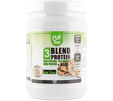 Be Green 3 BLEND PROTEIN Vanille-Cookie, 500g