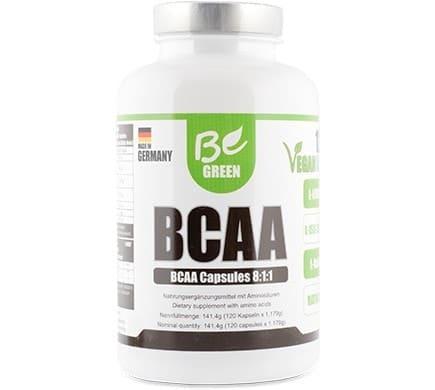 Be Green BCAA KAPSELN, 141,4g