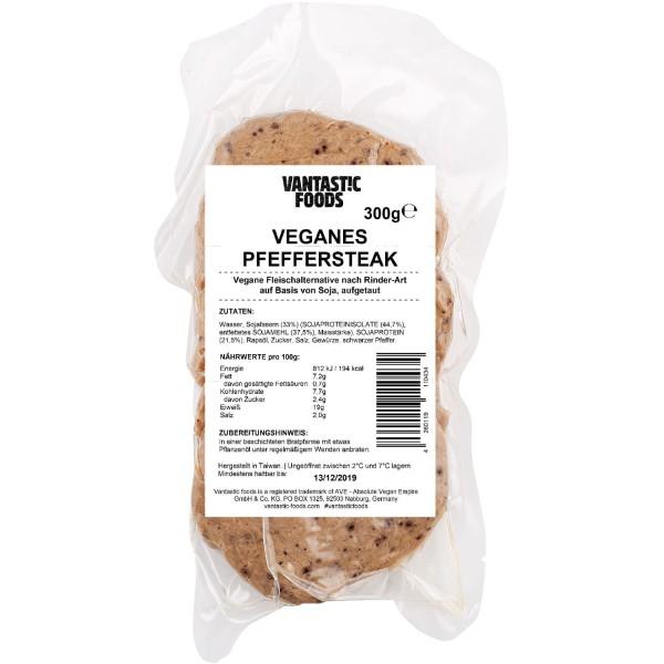 Vantastic foods VEGANES PFEFFERSTEAK, 300g