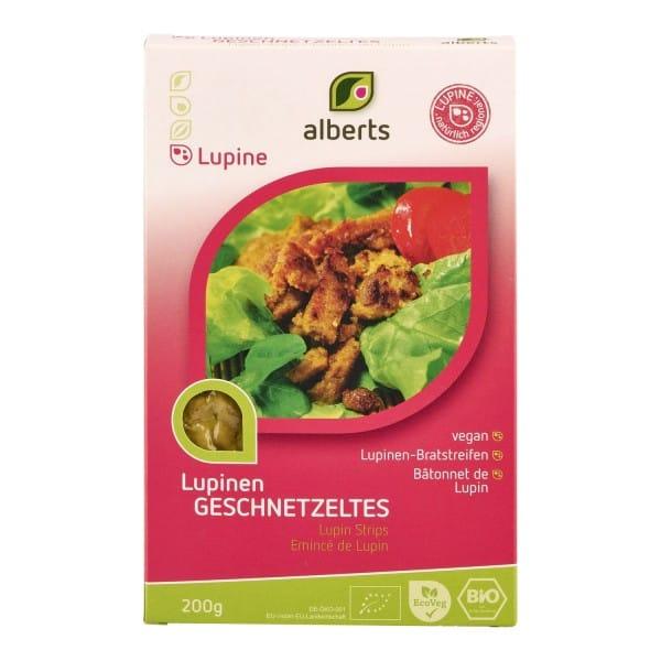 Alberts LUPINEN-GESCHNETZELTES, BIO, 200g