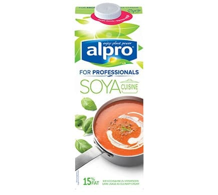 Alpros soja cuisine 39 for professionals 39 f r wahre profis for Alpro soja cuisine