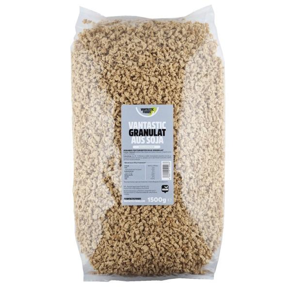 Vantastic foods SOJA GRANULAT Familienpackung, 1,5kg