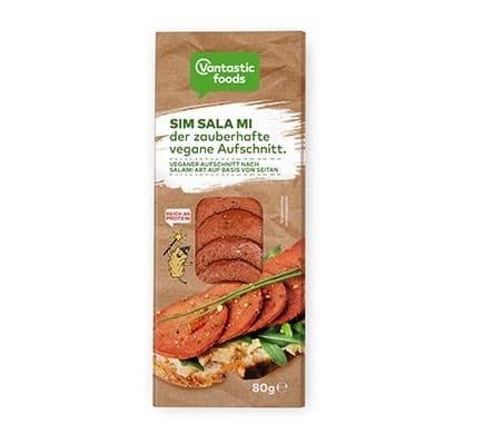 Vantastic foods SIM SALA MI der zauberhafte vegane Aufschnitt, 80g
