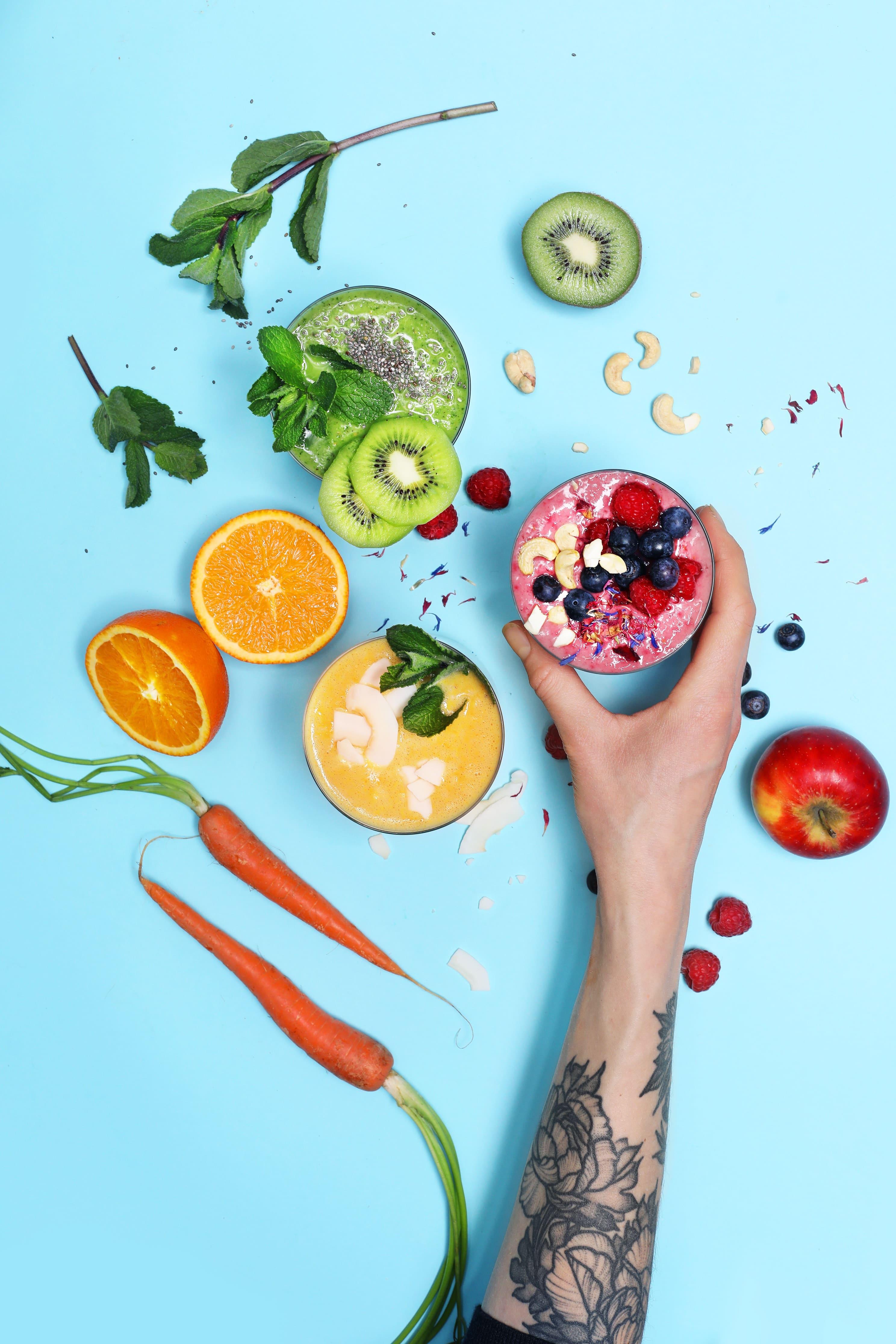 Fruchtige Smoothies