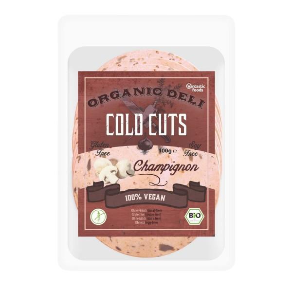 Vantastic foods COLD CUTS Champignon, BIO, 100g
