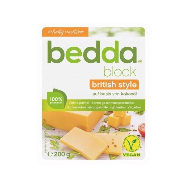 bedda BLOCK British Style, 200g