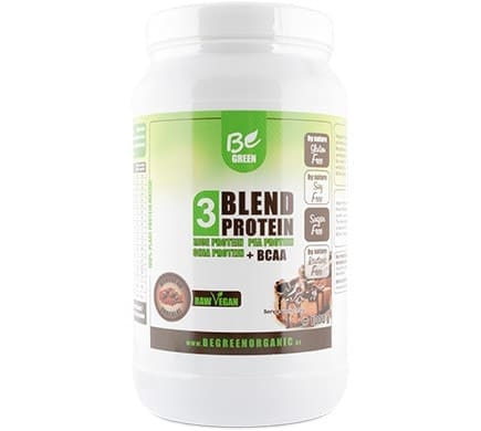 Be Green 3 BLEND PROTEIN Mousse au Chocolat Geschmack, 1000g