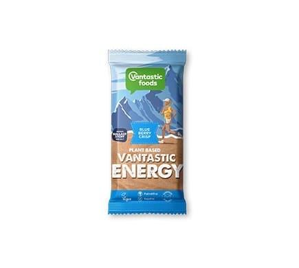 Vantastic foods VANTASTIC ENERGY Blueberry-Crisp Energieriegel, 62g