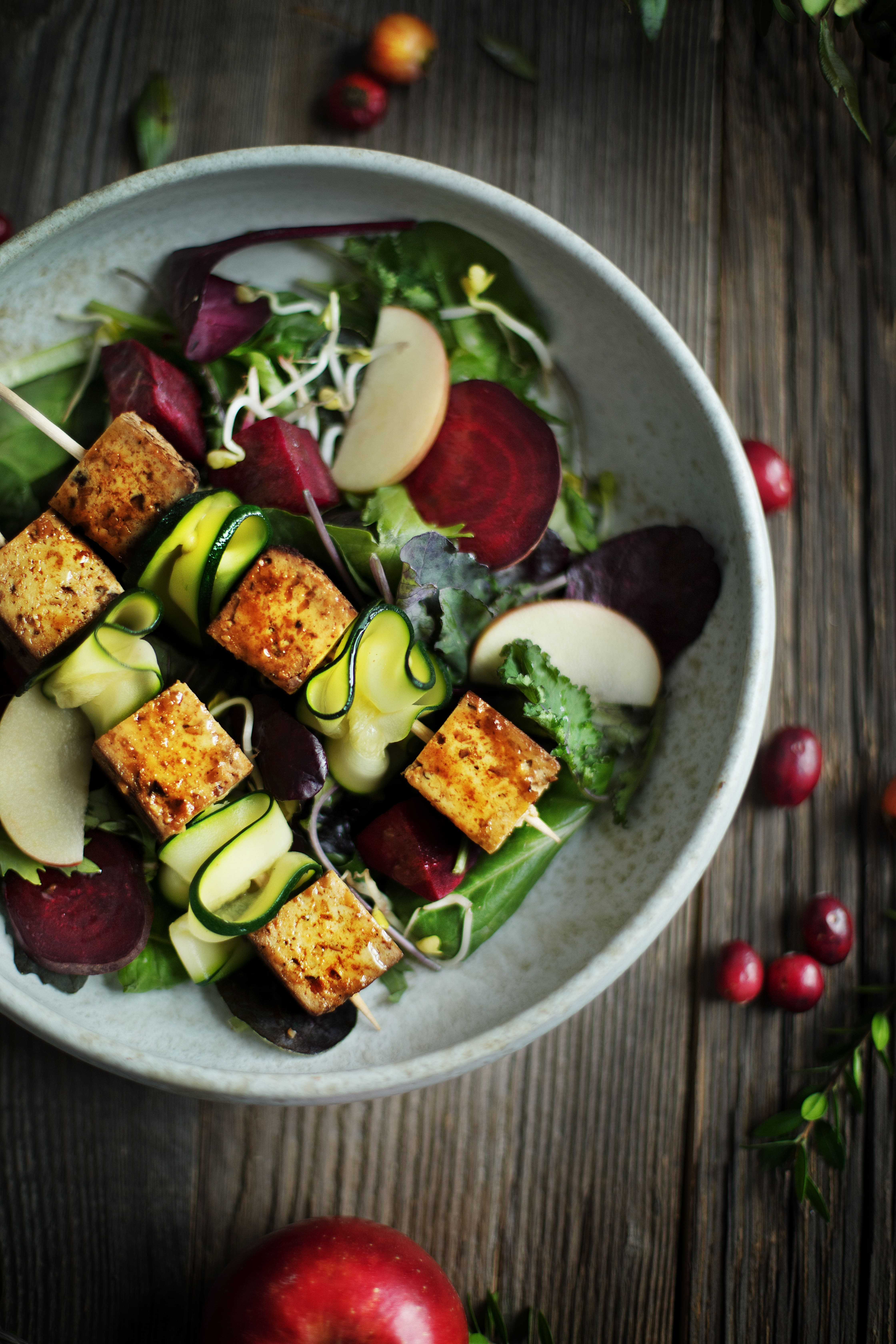 Tofu & Beeten Salat