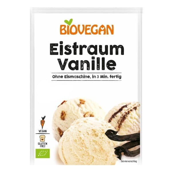 Biovegan EIS-TRAUM Vanille, 77g