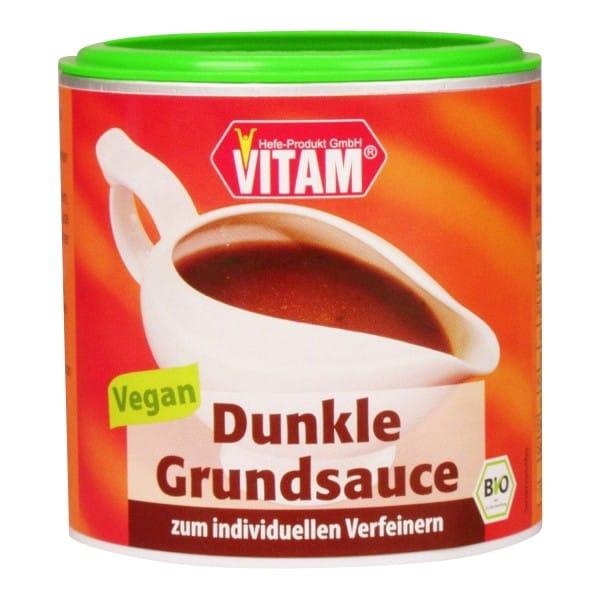 VITAM DUNKLE GRUNDSAUCE, BIO, 125g