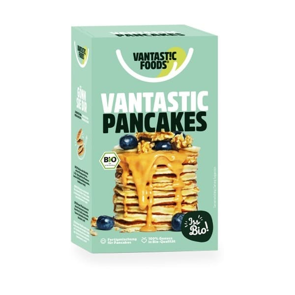 Vantastic foods VANTASTIC PANCAKES, BIO, 180g