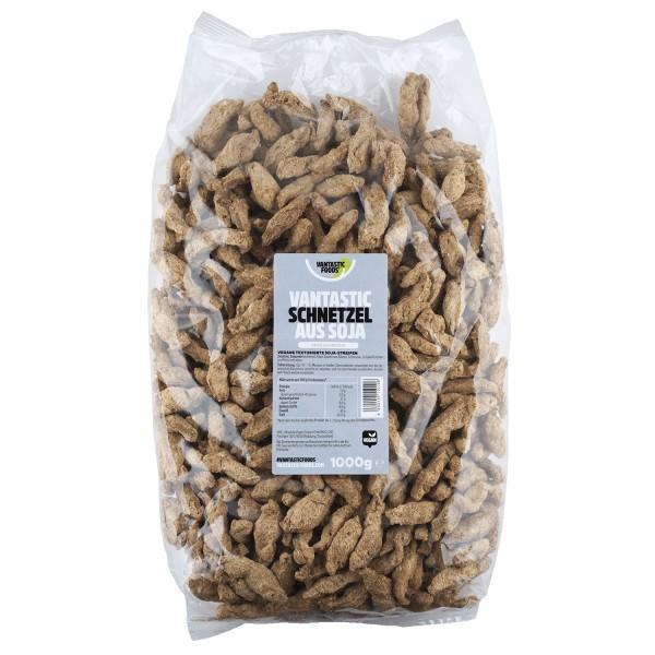 Vantastic foods SOJA SCHNETZEL Familienpackung, 1kg