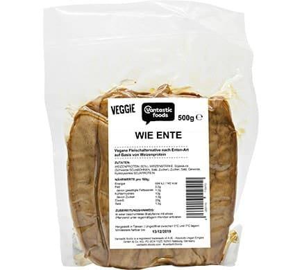 Vantastic foods VEGGIE wie Ente, 500g