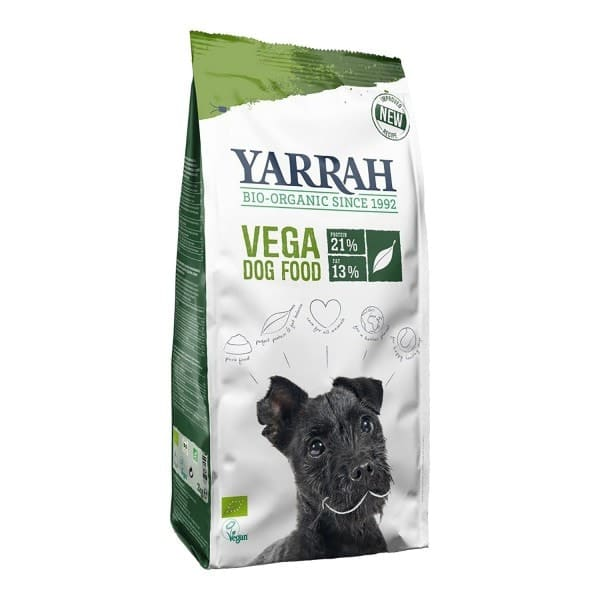 Yarrah VEGA Hundetrockenfutter, BIO, 10kg