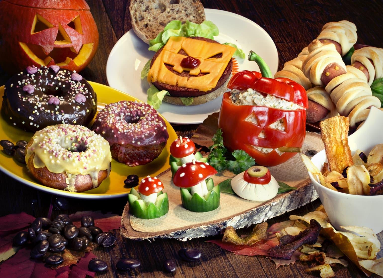 Halloween-Buffet