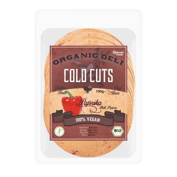 Vantastic foods COLD CUTS Paprika, BIO, 100g