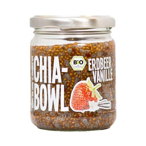 Chia-Bowl ERDBEER VANILLE, BIO, 200g