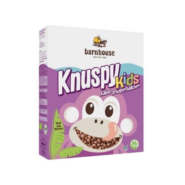 Barnhouse KNUSPY KIDS Kakao-Knusperbällchen, BIO, 250g