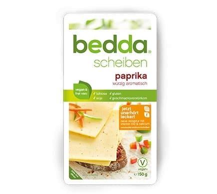 bedda SCHEIBEN Paprika, 150g