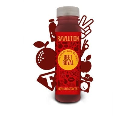 Rawlution BEET ROYAL Superjuice, 250ml