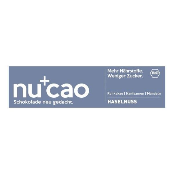 Nu Organics NUCAO Haselnuss, BIO, 40g