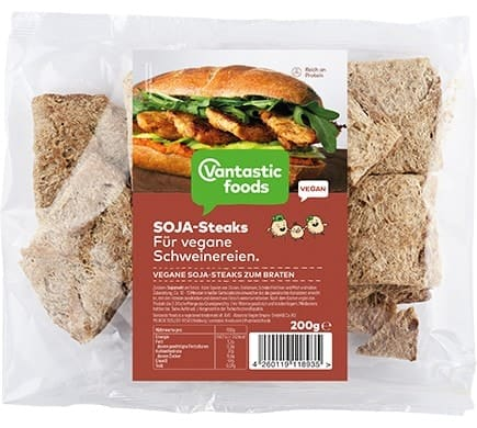 Vantastic foods SOJA STEAKS, 200g