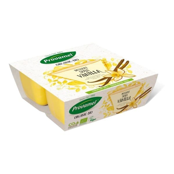 Provamel SOJA-DESSERT mit Vanillegeschmack, BIO, 4x125g