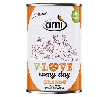 Ami V-LOVE every day ORANGE Kürbis Süßkartoffel, 400g