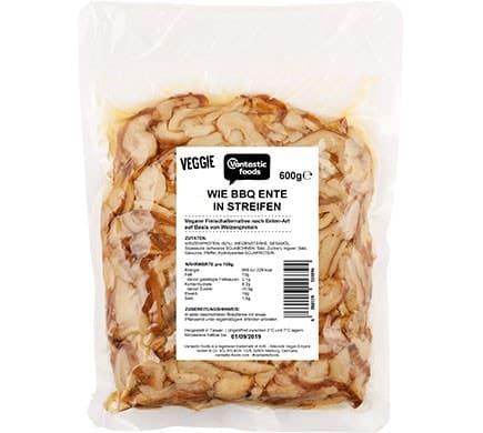 Vantastic foods VEGGIE wie BBQ-Ente in Streifen, 600g
