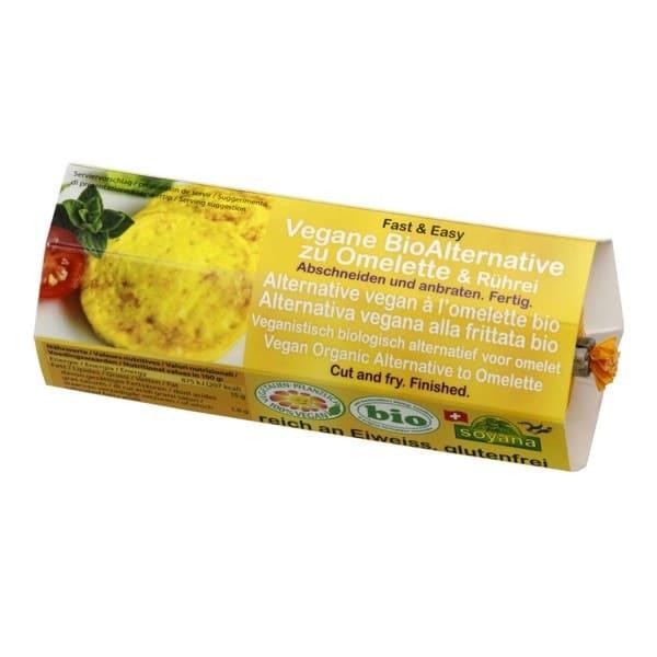 Soyana vegane Alternative zu OMELETTE oder RÜHREI, BIO, 200g