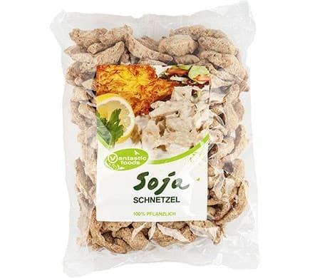 Vantastic Foods SOJA SCHNETZEL Fleischersatz Sojafleisch, 300g