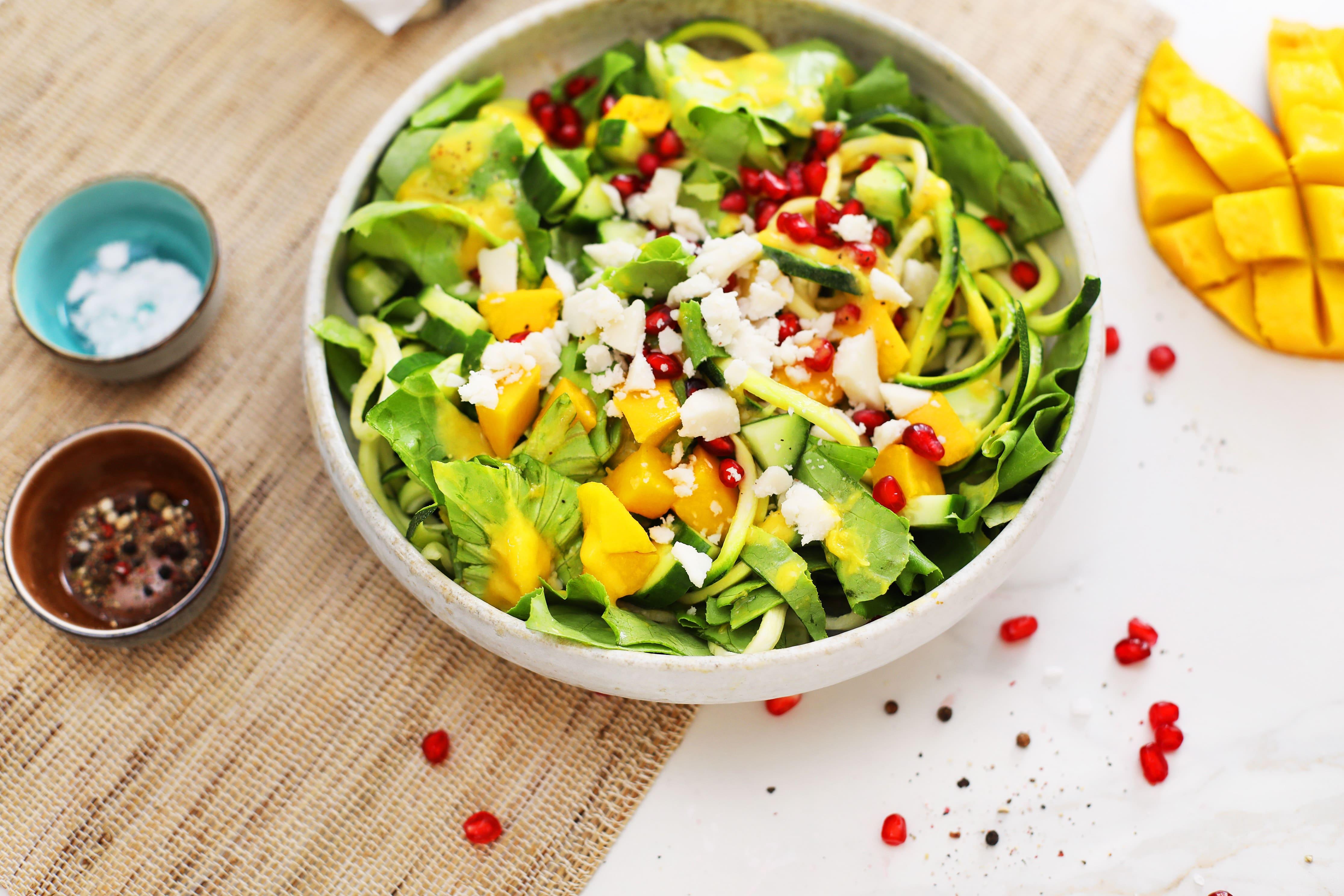 Veganer Mango-Sommer-Salat