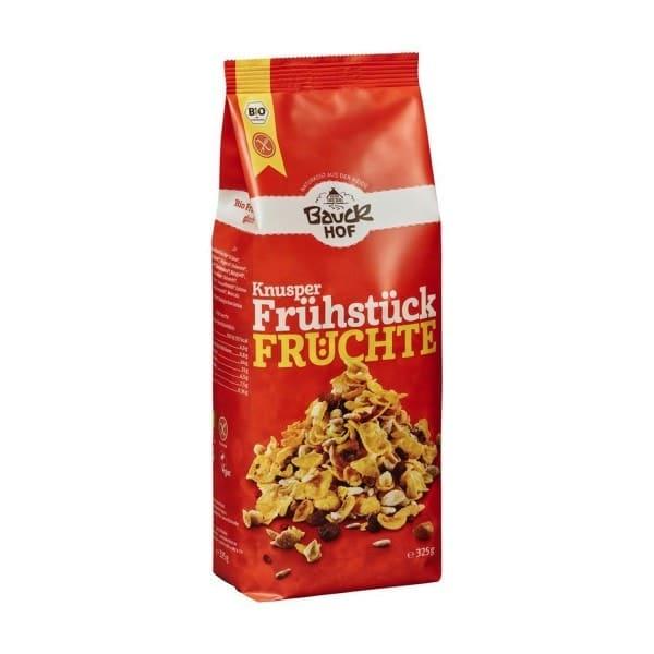 Bauckhof KNUSPERFRÜHSTÜCK Früchte, BIO, 325g