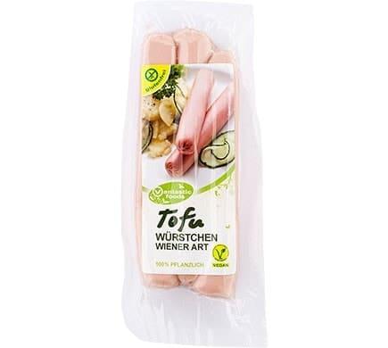 Vantastic Foods TOFU Bratwürstchen Wiener Art, 125g