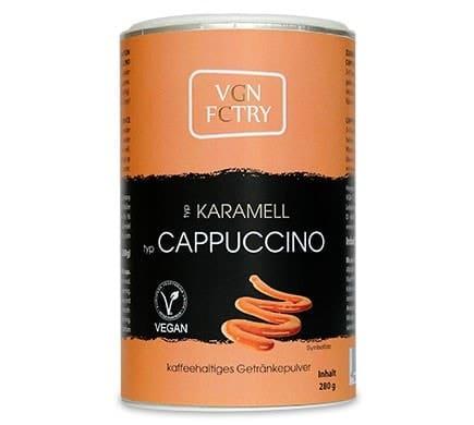 VGN FCTRY INSTANT CAPPUCCINO Karamell, 280g